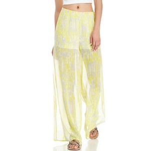 LOVERS AND FRIENDS SIDE SLIT PANTS